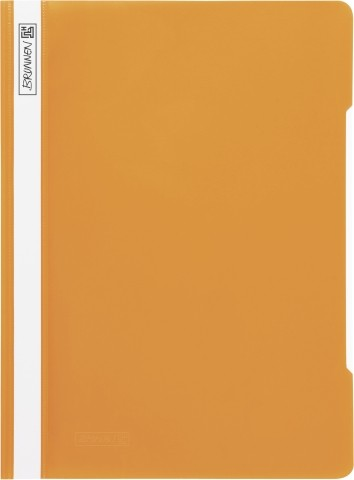 Brunnen - Schnellhefter, PP-Material, 227 x 310 mm, orange