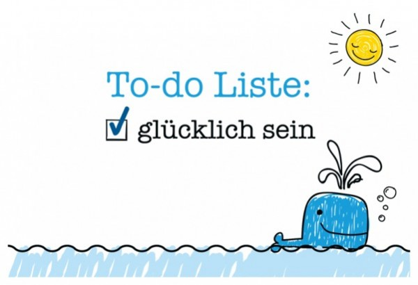 Postkarte - To-Do-Liste