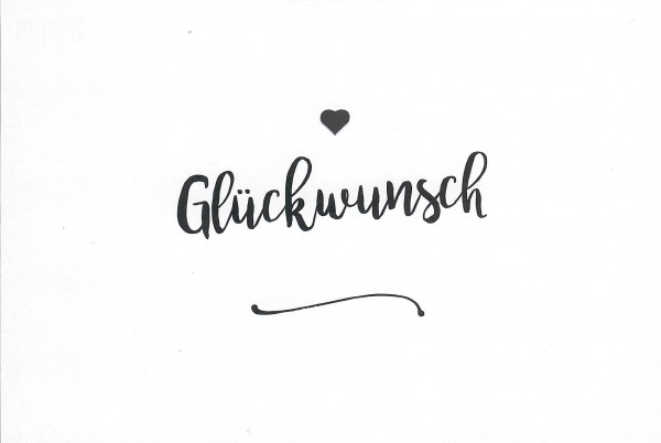 Cityproducts YOU&ME-GLÜCKWUNSCH
