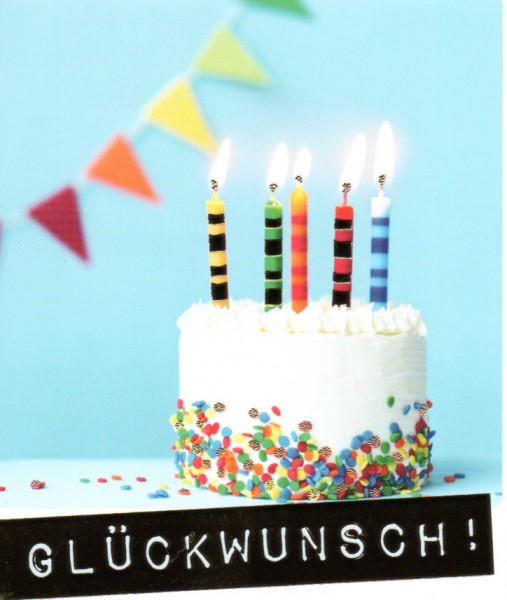 City Products-happymemories Glückwunsch Torte
