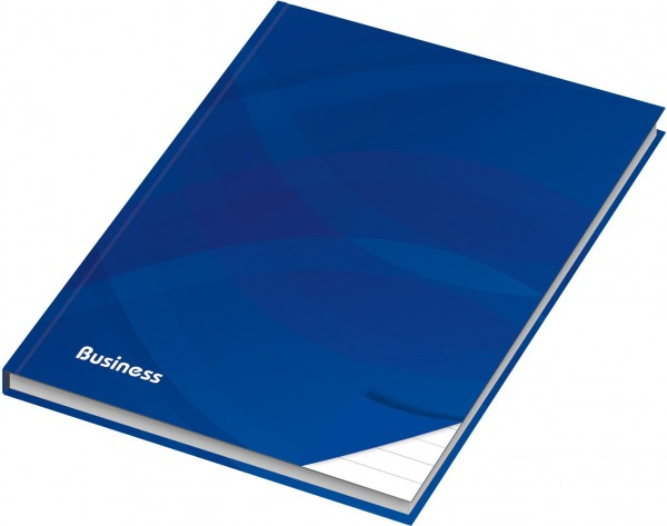 Notizbuch A4 Business blau